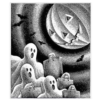 Holloween Wall Art Poster