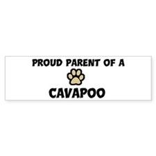 Proud Parent: Cavapoo Bumper Bumper Sticker