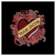 Team Jacob Flourish Wall Art Poster