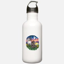 MagicalNight-Blk-ShihTzu Water Bottle