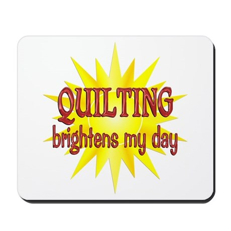Quilting Brightens Mousepad