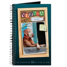 Hungarian Vizsla Journal (corkboard)