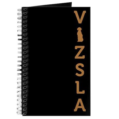 Hungarian Vizsla Journal (vertical silhouette)