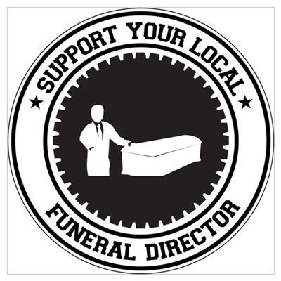 Support Funeral Director Wall Art Canvas Art