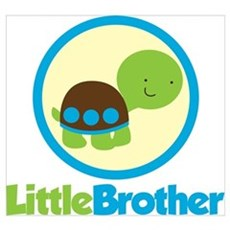 Turtle Little Brother Wall Art Poster