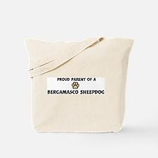 Proud Parent: Bergamasco Shee Tote Bag