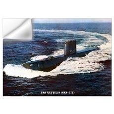 USS NAUTILUS Wall Art Wall Decal