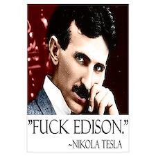 Nikola Tesla Wall Art