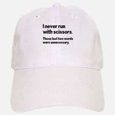 I Never Run Baseball Baseball Cap