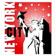 New York City Wall Art Poster