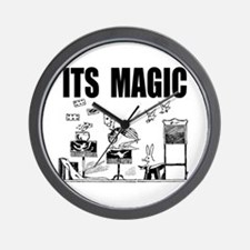 Its Magic Wall Clock