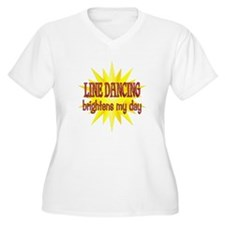 Line Dancing Brightens T-Shirt