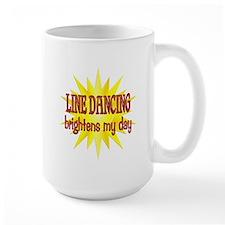 Line Dancing Brightens Mug