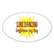 Line Dancing Brightens Decal