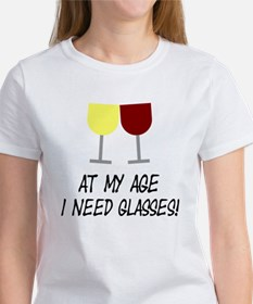 At my age I need glasses Tee