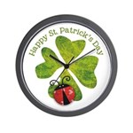 St. Patricks Day Wall Clock