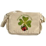 St. Patricks Day Messenger Bag