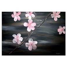 Cherry Blossom Fine Art Wall Art Poster