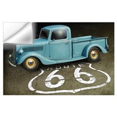 Route 66 Farm Truck Wall Art Wall Decal
