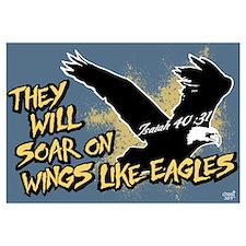 Soar on Wings like Eagles Wall Art