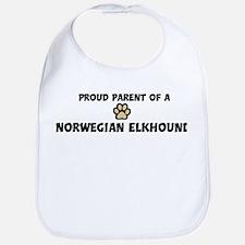 Proud Parent: Norwegian Elkho Bib