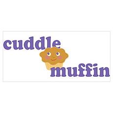 Cudde Muffin - Blueberry Wall Art Poster
