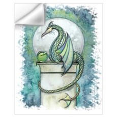 Green Dragon Wall Art Wall Decal