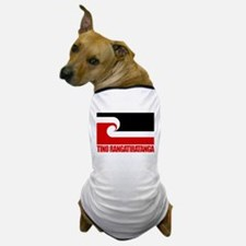 """Tino Rangatiratanga"" Dog T-Shirt"