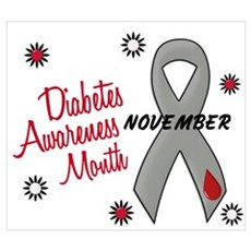 Diabetes Awareness Month 1.1 Wall Art Canvas Art