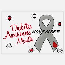 Diabetes Awareness Month 1.1 Wall Art