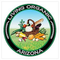 Living Organic Arizona Wall Art Poster