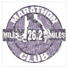 Marathon Club Wall Art Framed Print