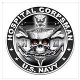Corpsman Wrapped Canvas Art