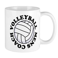 Mens Volleyball Coach Gift Mug