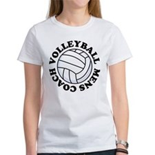 Mens Volleyball Coach Gift Tee