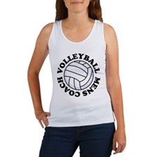 Mens Volleyball Coach Gift Women's Tank Top