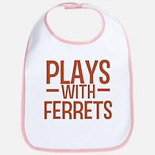 PLAYS Ferrets Bib