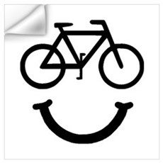 Bike Smile Wall Art Wall Decal