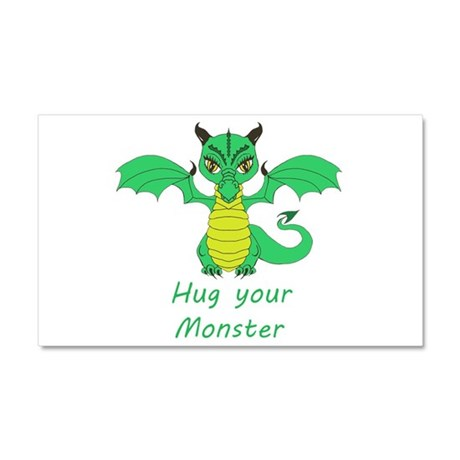 Hug Your Monster Car Magnet 20 x 12