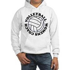Womens Volleyball Coach Gift Hoodie