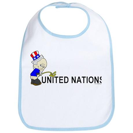 Piss On United Nations Bib
