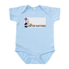 Piss On United Nations Infant Creeper