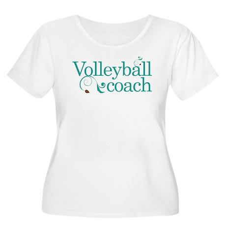 Volleyball Coach Stylish Gift Women's Plus Size Sc