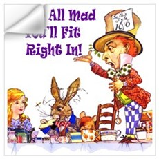 MAD HATTER RULES Wall Art Wall Decal