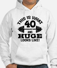 Funny 40 Year Old Hoodie