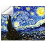 Van gogh starry night Wall Decals