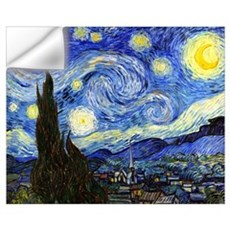 Van Gogh - Starry Night Wall Art Wall Decal