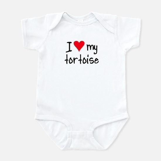 I LOVE MY Tortoise Infant Bodysuit