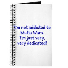 not addicted to Mafia Wars Journal