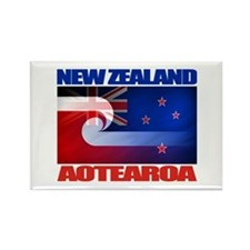 Aotearoa Rectangle Magnet